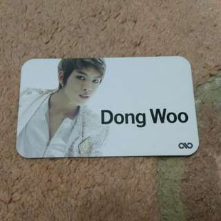 Infinite DongWoo Official Photocard -BTD (Japan)