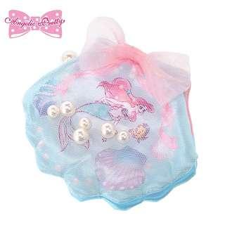 日本迪士尼Disney小美人魚貝殼型首飾/飾品收納包