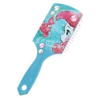 日本迪士尼Disney小美人魚大型握把梳子