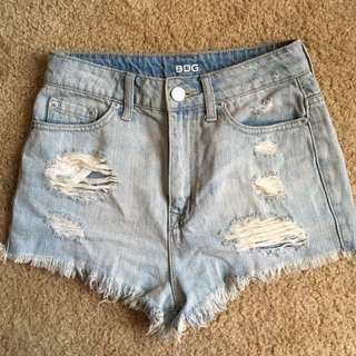 Urban Outfitters Super High Waisted Shorts