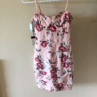 BNWT Talula Pink Floral Dress