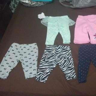 0-3 Month Pants Girl