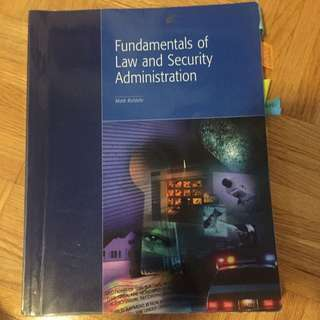 Fundamentals Of Law And Security Administration