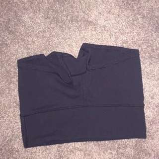 "Lululemon Black ""Wunder"" Shorts"