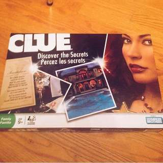 Clue Boardgame