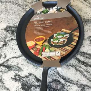 Brand New Cast Iron Griddle !!!