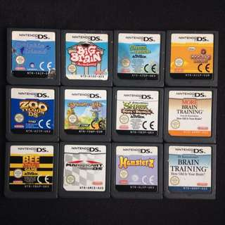 Ds Games Nintendo Bulk Mario Kart Shrek Brain Training Cooking Mama Drawn To Life
