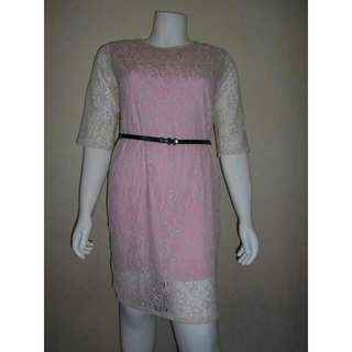 Plus Size Lace Dress