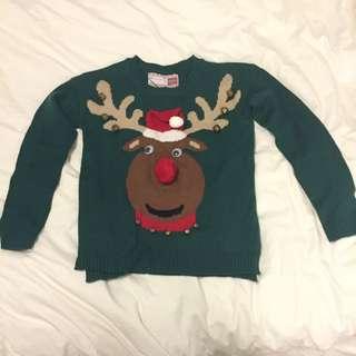 Reindeer Ugly Xmas Sweater