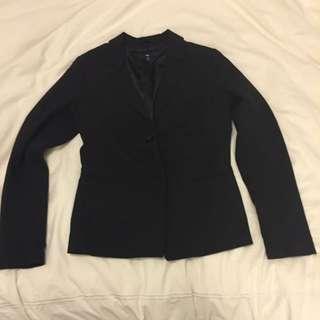 Gap Black Structured Blazer