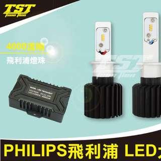 TST-最新款汽機車專用Led大燈可調整光型/焦距