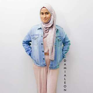 Denim Jacket (Light Blue)
