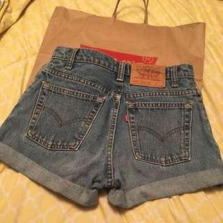 Levi Jean Vintage Shorts