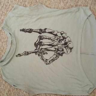 Rock&Roll Skeleton Shirt