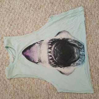 Shark Muscle Shirt