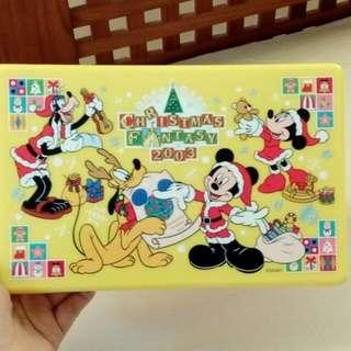 迪士尼 米奇  野餐盒 收納盒 絕版