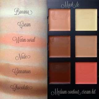 Anastasia Beverlyhills medium contour cream kit.