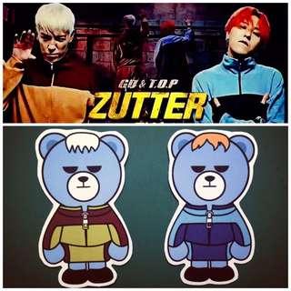 KRUNK x BIGBANG防水貼紙(Zutter)