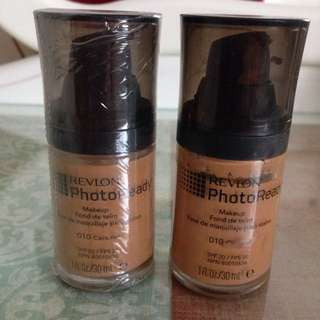 2 x Revlon Photoready foundation