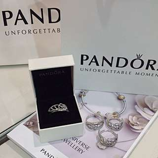 Pandora Butterfly Wing Ring