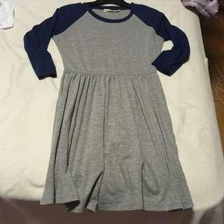 Bluenotes Baseball Style Dress