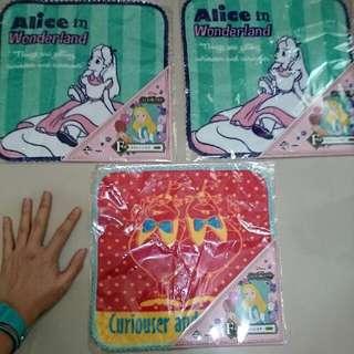 <售>迪士尼愛麗絲一番賞毛巾單售