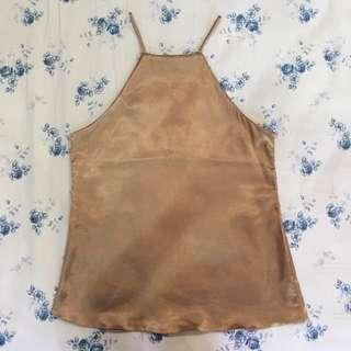 [FREE POST] Silky Bronze Top