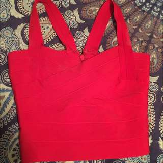 Red Bandage Crop