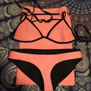 Authentic Triangl Bathers Orange