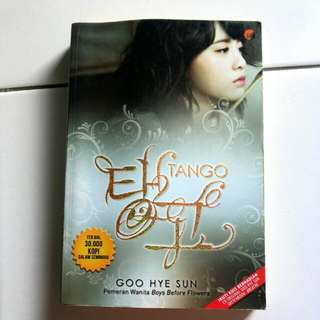 (Korean Novel) Tango By Goo Hye Sun