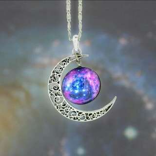 Necklace galaxy Style