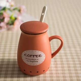 韓劇胖胖杯 可愛牛奶咖啡杯