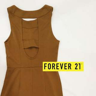 Forever 21 - Sexy Back Bodycon Dress - S