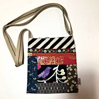Hand-sewn Bag With Unique Pattern
