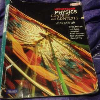 Heinemann Physics Content 3a3b