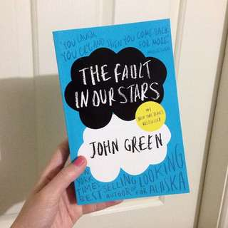 The Fault In Our Stars Paperback Book