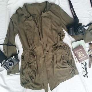 Army Green Soft Parka