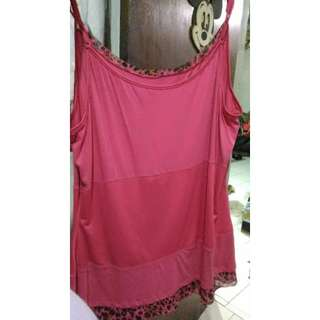 Pink Tanktop With Leopard List