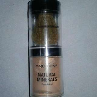 Max Factor Mineral Foundation