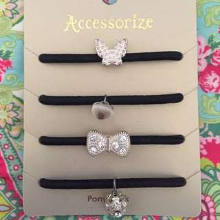 Accessorize Ponytail Pack
