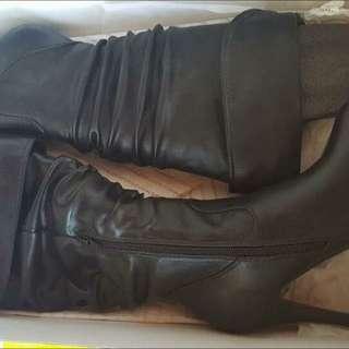 Aldo Kneehigh Boots (leather)