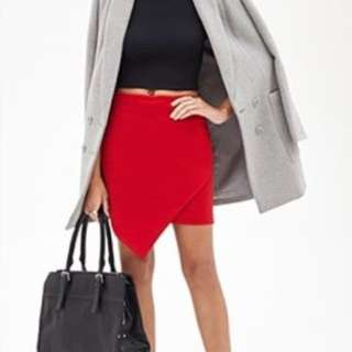 F21 Asymmetrical Skirt