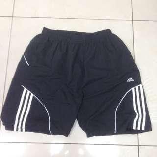 Adidas 短褲 海灘褲材質