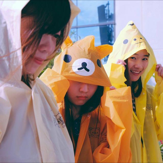 🇳🇱泰國7-11限定🇳🇱拉拉熊成人雨衣(小雞款)