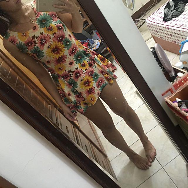 滿版印花洋裝