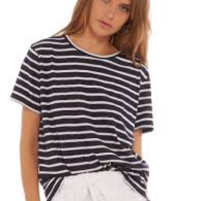Assembly the label stripe tee XS