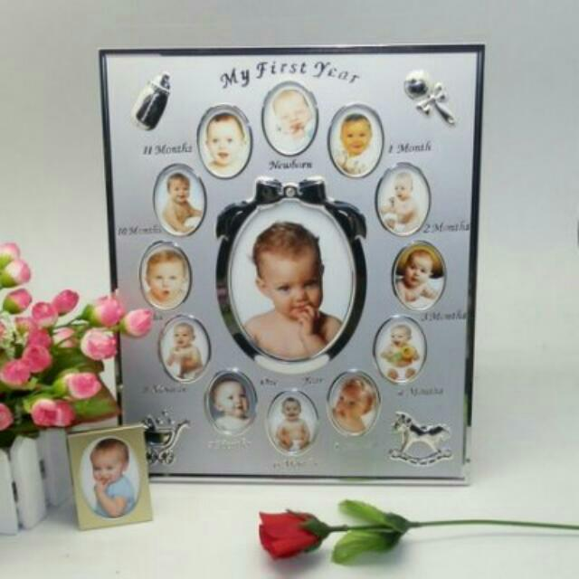 Baby 1st Year Photo Frame Babies Kids On Carousell