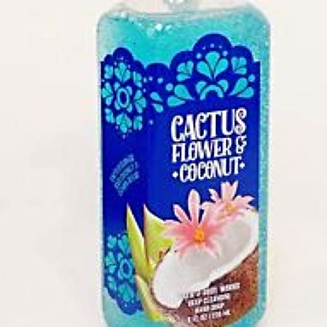 Bath & Body Works Deep Cleansing Hand Soap - Cactus Flower & Coconut