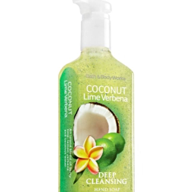 Bath & Body Works Deep Cleansing Hand Soap - Coconut Lime Verbena