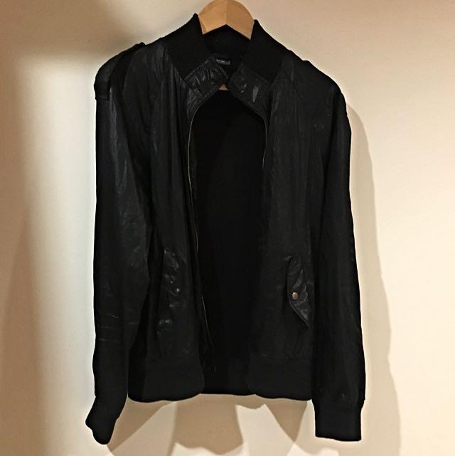 Black Kanji Jacket